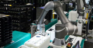Collaborative Robots used in manufacturing industry