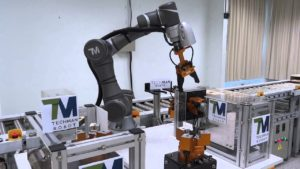 TM Collaborative Robots used in manufacturing industry