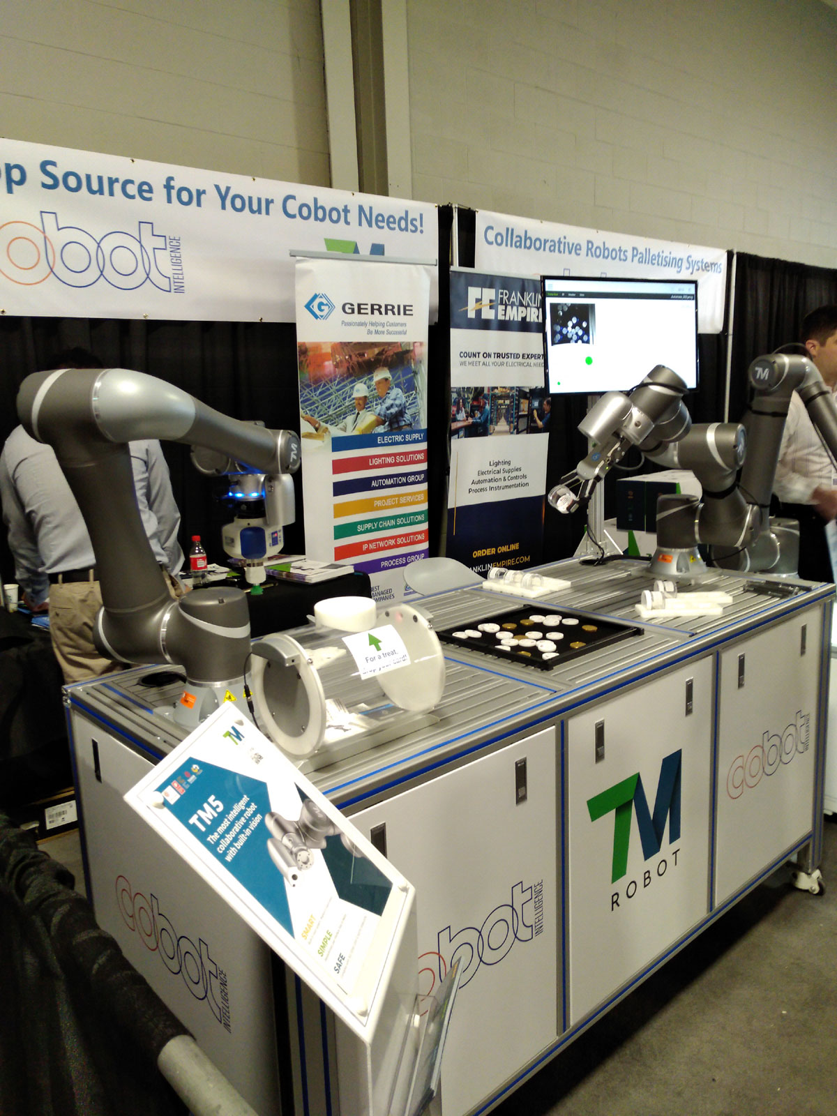 Industrial Collaborative Robots for Smart Automation | Cobot Intel