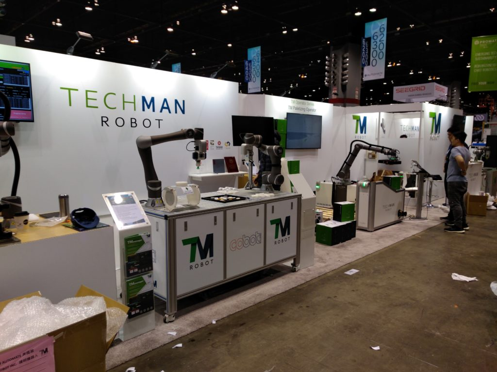 Techman Robots At Automation Express