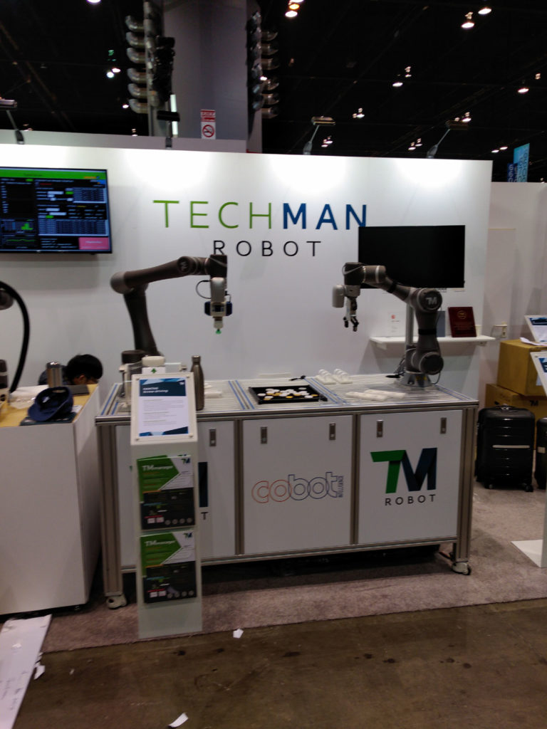 Techman Robots Demo At Automation Express