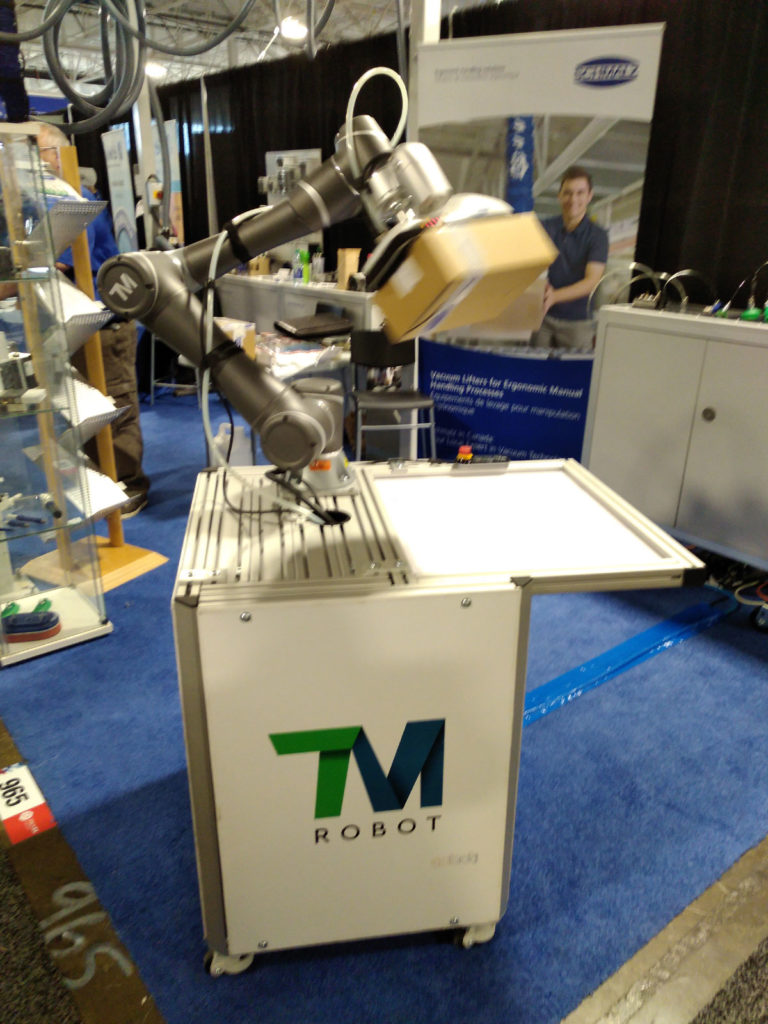Collaborative Robots at Toronto Expo