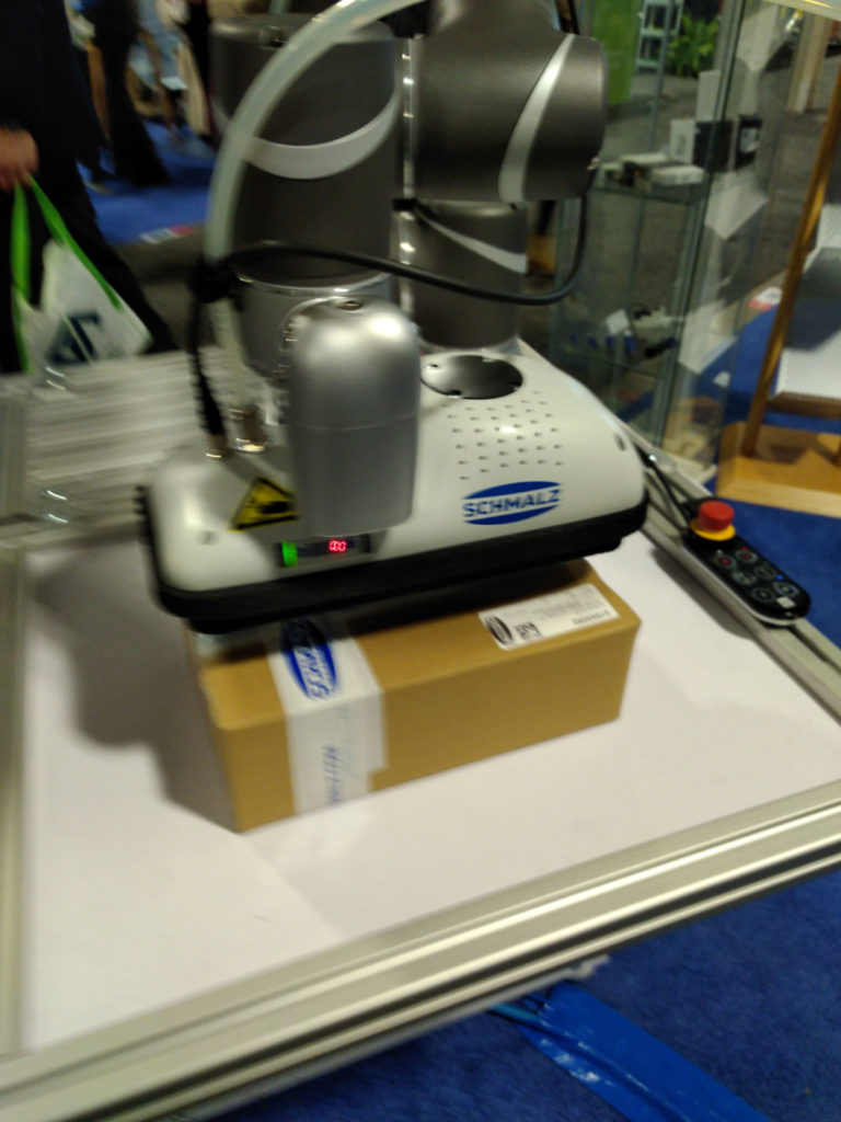 TM Robots At Toronto ADM-Expo