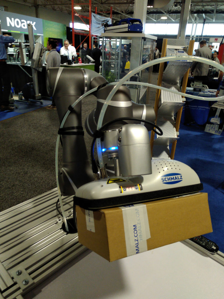 Colloborative Robots Accessories in Toronto ADM Expo