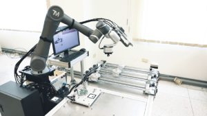 Collaborative robot in manufacturing industry